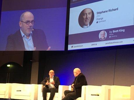 Stéphane Richard Orange Fintech Forum 2018