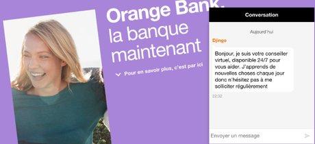 Orange Bank Djingo IA Watson