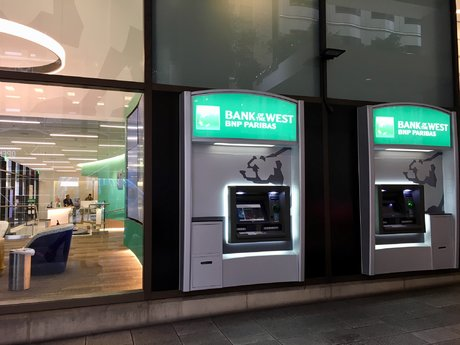BNP Bank of the west distributeurs ATM