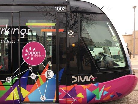 Dijon tram mobilité