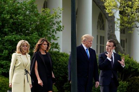 Macron, Trump, visite officielle,