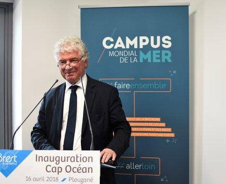 François Cuillandre, président de Brest Métropole