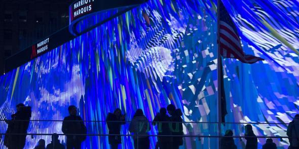 Times Square inaugure le plus grand écran numérique du monde - La Tribune.fr