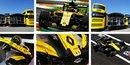 Hexis réalise des supports vinyles pour Renault Sport Formula One Team