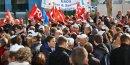 Plus de la moitié des salariés d'Astrium à Toulouse étaient rassemblés devant le siège d'Airbus Group.