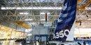 Inauguration de l'usine A350 en présence de Jean-Marc Ayrault