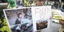 Hommage au journaliste américain décapité James Foley