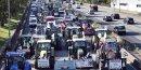 Plus de 1.000 tracteurs en route vers paris