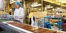 Usine de fabrication de chocolat Cémoi, dans les Pyrénées-Orientales