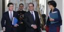 El Khomri Hollande Valls
