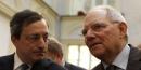 Schäuble et Draghi