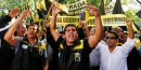 Taxis, VTC, Uber, Argentine, Buenos Aires, procès, justice, chauffeurs en colère, manifestation,
