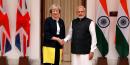 Theresa May en visite en Inde pour renforcer les relations commerciales avec le Royaume-Uni (Brexit, libre échange)