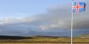 islande drapeau nature