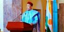 Le Président du Niger Issoufou Mahamadou