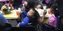 Enfant pauvre à Los Angeles dans un refuge en 2014