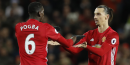 Paul Pogba et Zlatan Ibrahimovic Manchester United