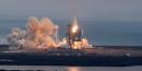 Lancement d'une fusée Space X vers l'ISS
