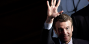 Macron devant fillon, derriere le pen, selon un sondage ifop