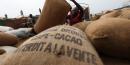Entrepôt de cacao en Côte d'Ivoire
