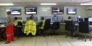 Nucléaire salle de contrôle commande usine