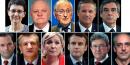 Présidentielle 2017 : 11 candidats (le pen, fillon, débat, hamon, macron, mélenchon)