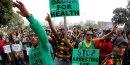 Manifestation légalisation cannabis Afrique du Sud
