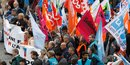 manifestation, 10 octobre 2017, front syndical fissuré, fonctionnaires unité syndicale,