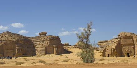 Al-Ula, Mada'in Saleh Al-Hijr Hegra, fouilles archéologiques, Arabie saoudite,