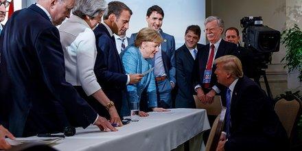G7 guerre commerciale