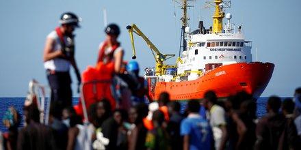Migrants, réfugiés, Aquarius, Corse, SOS Méditerranée