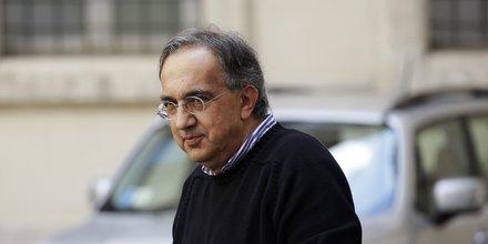 L'administrateur délégué de Fiat Chrysler  (FCA) Sergio Marchionne en juillet 2014