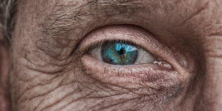 oeil, vision, vue, aveugle