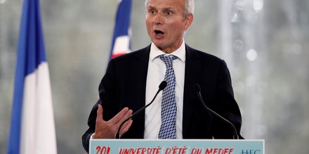 David Lidington, Medef, HEC,