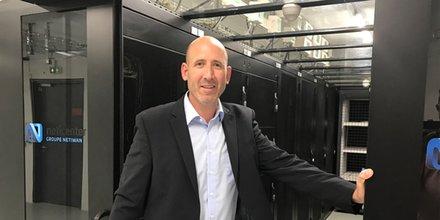 Vincent Arcas, directeur du développement de Netiwan à l'intérieur du Neticenter de Bouillargues.