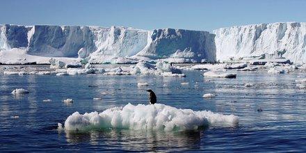fonte des glaces, Antarctique, climat, réchauffement climatique