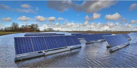 solaire flottant