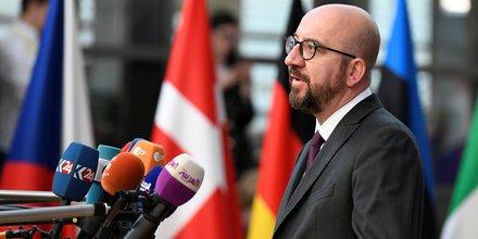 Charles Michel, Premier ministre, Belgique,