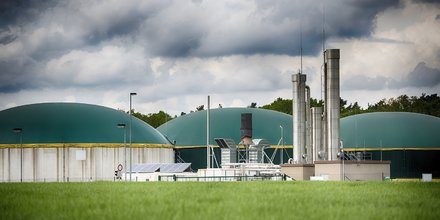 Usine de biométhane en Allemagne, gaz, énergie