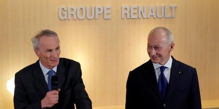Renault: un tandem senard-bollore pour succeder a ghosn