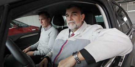 Gilles Le Borgne, ici encore en poste chez PSA, a été recruté par Renault comme directeur de l'ingénierie et membre du comité exécutif.