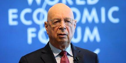 H318 IDÉES Klaus Schwab, fondateur du symposium européen du management en 1971, qui deviendra le Forum économique mondial en 1987