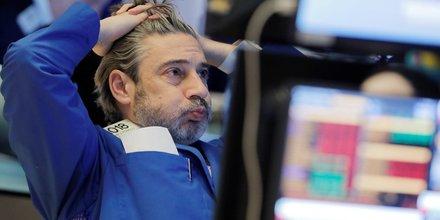 Trader à la Bourse de New York (New York Stock Exchange), Wall Street