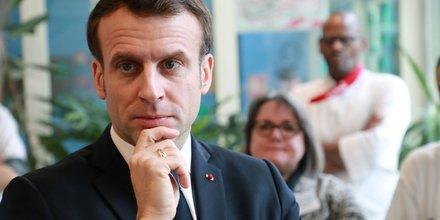 Macron, coronavirus, EHPAD