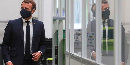 Union: macron salue le plan de relance, exhorte a aller vite