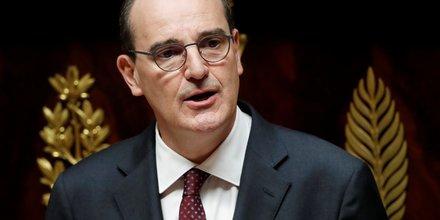 France: la cote de popularite de castex a 55%, macron perd un point