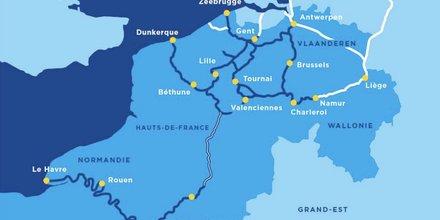 Plan du Canal Seine Nord Europe