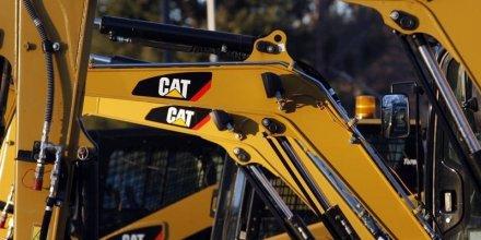 Hausse du bénéfice trimestriel de Caterpillar mais baisse du CA