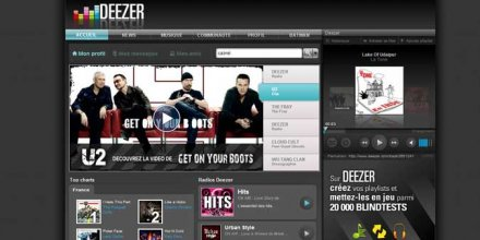 Deezer capture