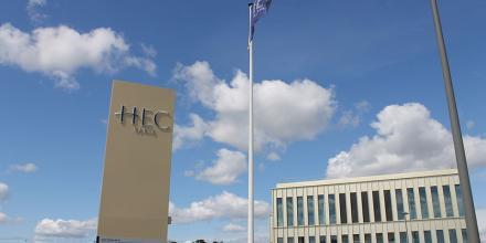 Entrée campus d'HEC
